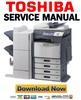 Thumbnail Toshiba e-STUDIO 2330C 2820C 2830C Service Manual