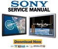 Thumbnail Sony FWD-50PX3 Service Manual & Repair Guide