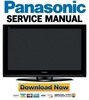 Thumbnail Panasonic TH-50PZ700 + 50PY700 Series Service Manual & Repair Guide