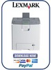 Thumbnail Lexmark C734 + C736 Series Service and Repair Manual
