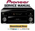 Thumbnail Pioneer VSX 45TX + 43TX Service Manual & Repair Guide
