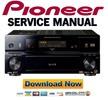 Thumbnail Pioneer VSX-82TXS + 84TXSi Service Manual and Repair Guide