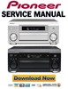 Thumbnail Pioneer VSX-AX3 Series Service Manual and Repair Guide