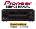 Thumbnail Pioneer VSX-D850S Service Manual and Repair Guide