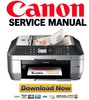 Thumbnail Canon Pixma MX870 Service & Repair Manual + Parts Catalog