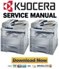 Thumbnail Kyocera Mita KM 1525 + 1530 + 2030 Service Manual & Repair Guide