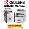 Thumbnail Kyocera Mita KM-2020 2035 2050 2550 Service Manual & Repair Guide + Parts List Catalog