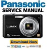 Thumbnail Panasonic Lumix DMC-FH20 Service Manual & Repair Guide