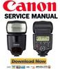 Thumbnail Canon SpeedLite 430EX Service Manual + Parts List Catalog