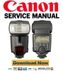 Thumbnail Canon SpeedLite 580EX Service Manual + Parts List Catalog
