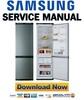 Thumbnail Samsung RL39EBMS Service Manual & Repair Guide