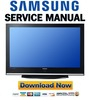 Thumbnail Samsung PS42Q7HD Service Manual & Repair Guide