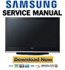 Thumbnail Samsung PS-50Q7HD PS50Q7HD Service Manual & Repair Guide