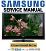 Thumbnail Samsung PS-50Q97HD PS50Q97HD Service Manual & Repair Guide