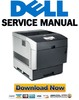 Thumbnail Dell 5100CN Service Manual Repair Guide