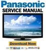Thumbnail Panasonic Viera TC-L42U22 Service Manual & Repair Guide