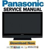 Thumbnail Panasonic TH-50PX80U Service Manual & Repair Guide