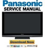 Thumbnail Panasonic TH-50PZ80U Service Manual & Repair Guide