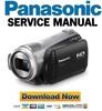 Thumbnail Panasonic HDC-SD9 Service Manual & Repair Guide
