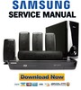 Thumbnail Samsung HT-BD1250 + BD1250T Service Manual & Repair Guide