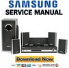 Thumbnail Samsung HT-Q70 + Q80 Service Manual & Repair Guide