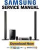 Thumbnail Samsung HT-TZ522 + TZ522T Service Manual & Repair Guide