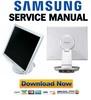 Thumbnail Samsung SyncMaster 193P Service Manual & Repair Guide