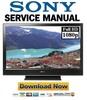 Thumbnail Sony KDL 40D3400 46D3400 40D3500 46D3500 Service Manual & Repair Guide