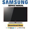 Thumbnail Samsung UN40B6000 UN46B6000 UN55B6000 Series Service Manual & Repair Guide