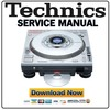 Thumbnail Technics SL-DZ1200 Service Manual & Repair Guide
