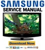Thumbnail Samsung LE37R87BD Service Manual & Repair Guide