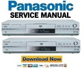 Thumbnail Panasonic DMR-E30 T3030 Series Service Manual & Repair Guide
