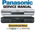 Thumbnail Panasonic DMR-E55 Series Service Manual & Repair Guide