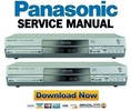 Thumbnail Panasonic DMR-E85H E85HEE E85HGCS EH85HGN Service Manual