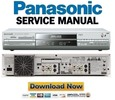 Thumbnail Panasonic DMR-E95H E95HEB E95HEG Service Manual Repair Guide
