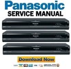 Thumbnail Panasonic DMR-EZ28 EZ28P EZ28PC Service Manual Repair Guide