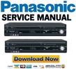 Thumbnail Panasonic DMR-EZ48 EZ485 Service Manual & Repair Guide