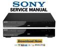Thumbnail Sony RDR-DC90 DC100 DC105 DC200 DC205 DC305 DC500 DC505 Service Manual