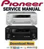 Thumbnail Pioneer VSX-1015TX Reparaturanleitung und Service Handbuch