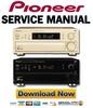 Thumbnail Pioneer VSX-908RDS Service Manual & Repair Guide