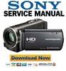 Thumbnail Sony HDR-CX110 CX110E CX115E CX116E CX150 CX150E CX170 Service Manual