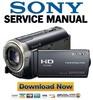 Thumbnail Sony HDR-CX300 CX305 CX350 CX370 XR350 Series Service Manual PACK