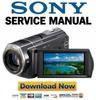 Thumbnail Sony HDR-CX500 CX505 CX520 Service Manual & Repair Guides PACK