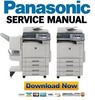 Thumbnail Panasonic DP-C322 + C262 manual de servicio