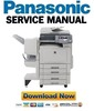 Thumbnail Panasonic DP-C354 + C264 Service Manual & Repair Guide