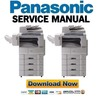 Thumbnail Panasonic DP-2330 + 3030 Service Manual & Repair Guide