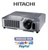 Thumbnail Hitachi CP-S245 + X255 + ED-X8255 Service Manual & Repair Guide