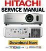 Thumbnail Hitachi CP-X201 X301 X401 Service Manual & Repair Guide