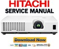 Thumbnail Hitachi CP X2520 + X3020 Service Manual & Repair Guide