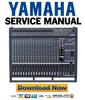 Thumbnail Yamaha EMX5000 12 + 20 Mixer Service Manual & Repair Guide